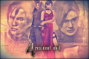 Resident Evil: 4 ( Leon - Ada ) by saifbeatsart