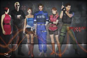 Resident Evil (Old-School) by saifbeatsart