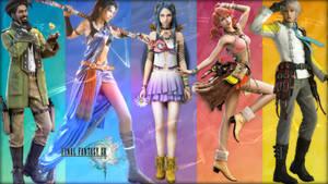 Final Fantasy XIII - Wallpaper by saifbeatsart