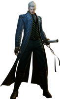 Devil May Cry 4 Special Edition - Vergil by saifbeatsart