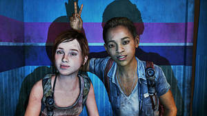 The Last of Us - Ellie and Riley #3 by saifbeatsart