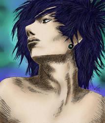 Boy (colored) by AngelAsura