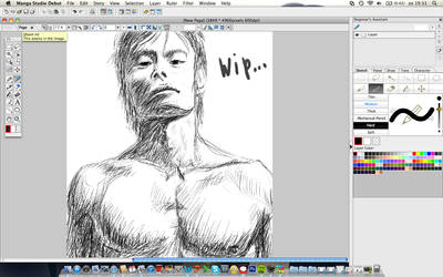 Lee work in progress... by AngelAsura