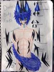 Dimitri|Kemonomimi|Body Marks by animalover4six