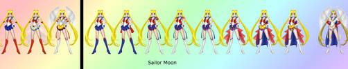 Sailor Moon - SailorXv2 by Katieline