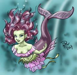 Purple Mermaid by Sirtaki