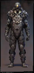 Armored Suit by scoro5