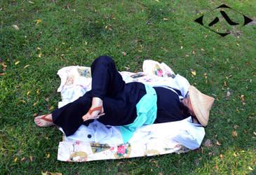 Kyoraku Shunsui: Lazy Day by Lalita-Zilli