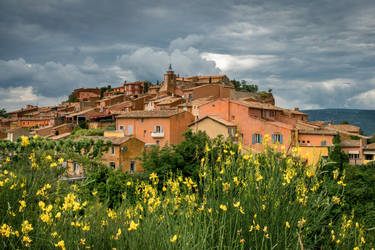 Les ocres du Luberon by wiwionart
