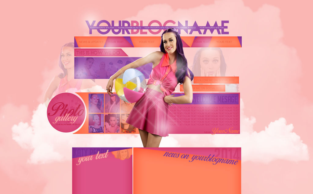 Premade: Summer with KATY PERRY by The-Divergent