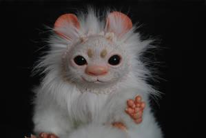 Hand Made Poseable Fantasy Bunny CloseUP by o0-Honey-0o