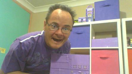 purple pride day by legochambersecrets