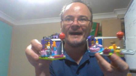 new lego kittehs pool party by legochambersecrets