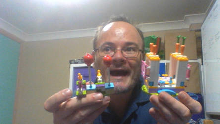new lego bunnies party by legochambersecrets