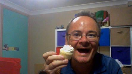 high tea cupcake by legochambersecrets