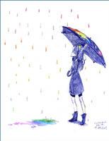 colorfull rain by kitty15553
