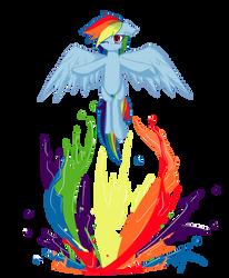 Rainbow Dash: Spectrum by Xonitum