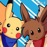 Cute partners by Kairi-Z