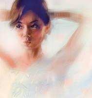 digital portrait sketch 8 by Cok3ster
