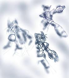 MMX old sketches 1 by Tekk0