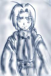 Ed Elric - old sketch by Tekk0