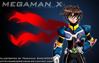 Megaman X character design by Tekk0