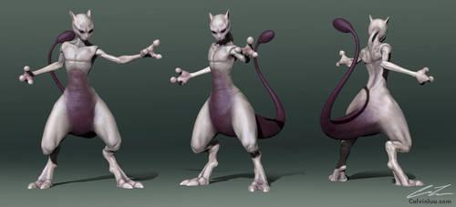 Mewtwo turnaround by calvinluu01