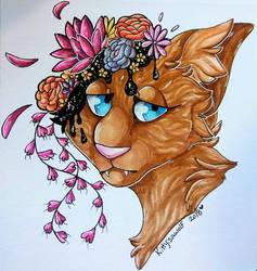Flowers in my head by KittyIsAWolf