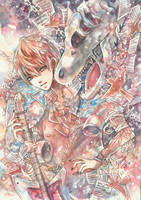 Yume no Sekai : The Guitarist by KarinPyong