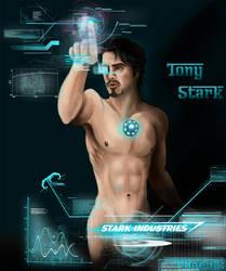 Stripped Down: Tony Stark by Phoenix-Cry