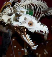 Steampunk Fox Taxidermy by Phoenix-Cry