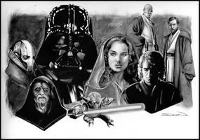 Star Wars Episode 3 by RandySiplon