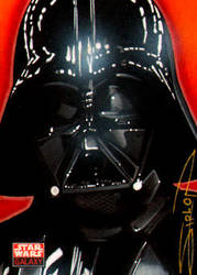 Star Wars Galaxy - Vader by RandySiplon