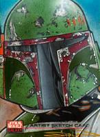 Star Wars Galaxy - Boba Fett by RandySiplon