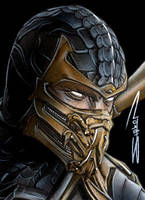 Scorpion Sketch Card by RandySiplon