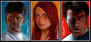 Dr. Horrible Trio by RandySiplon