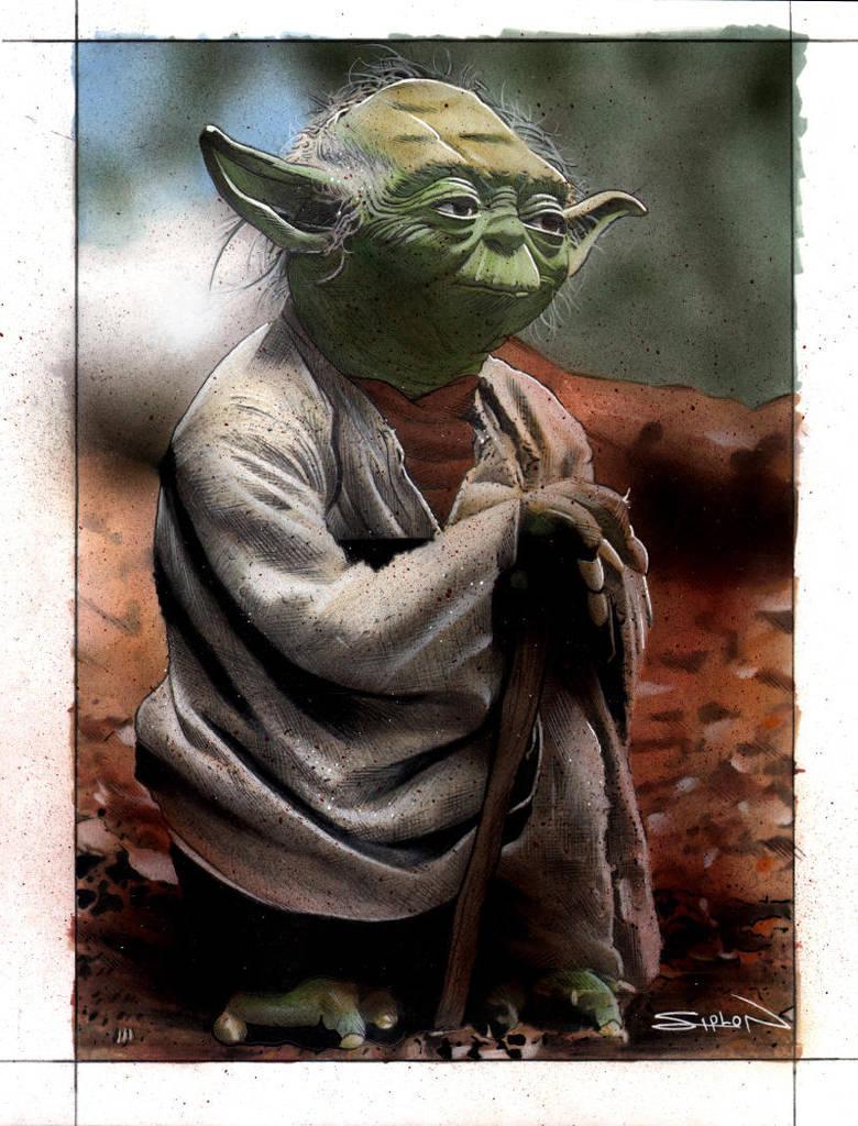 Yoda by RandySiplon