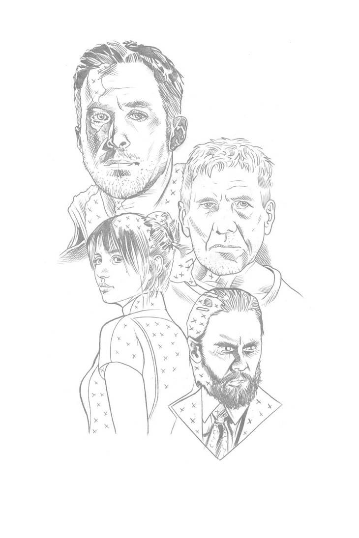 Blade Runner 2049 Pencils by RandySiplon