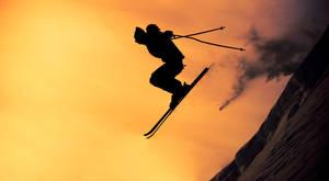 Ski or Die - print by messo85