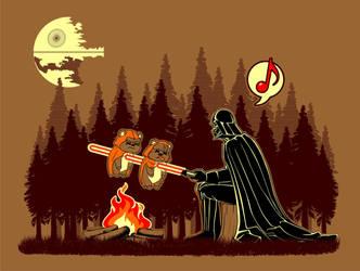 Camp Vader by Gisele-Dessin
