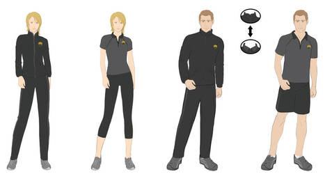 Uniform design by Gisele-Dessin