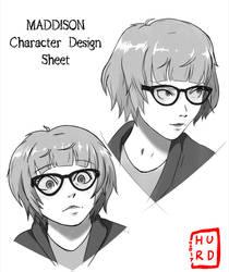 Maddison Character Sheet by TheAngryAron