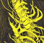 Mutant Skeleton Sketch by WhiteBoneDemon