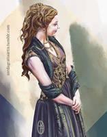 Margaery Tyrell Speed Paint 2.0 by zerda-vulpes