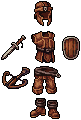 Leather Set by Anevis