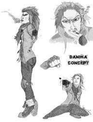 Danika Roe a.k.a Badass B#$%* by ezra91020