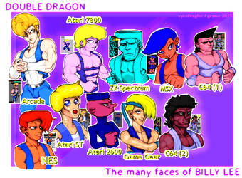 The Many Faces of Billy Lee by EyeOfVogler