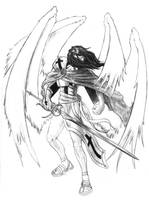 Archangel Michael by A-Nessessary-Studio
