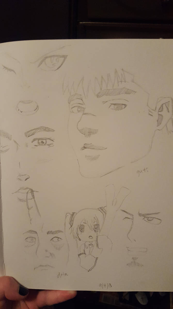 My sketches by gloomichan