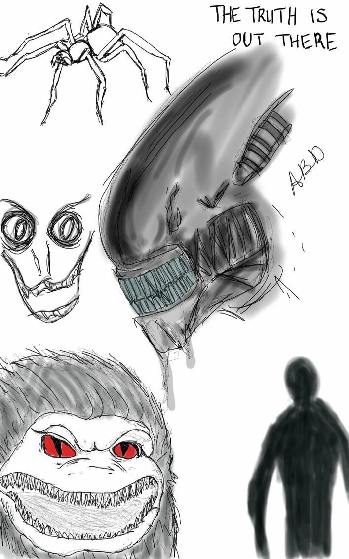 Doodles by gloomichan